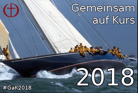 #GaK2018 | Gemeinsam auf Kurs 2018 | Logo