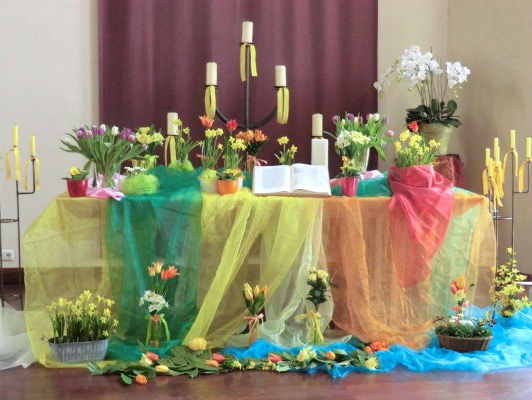 Altar zu Ostern