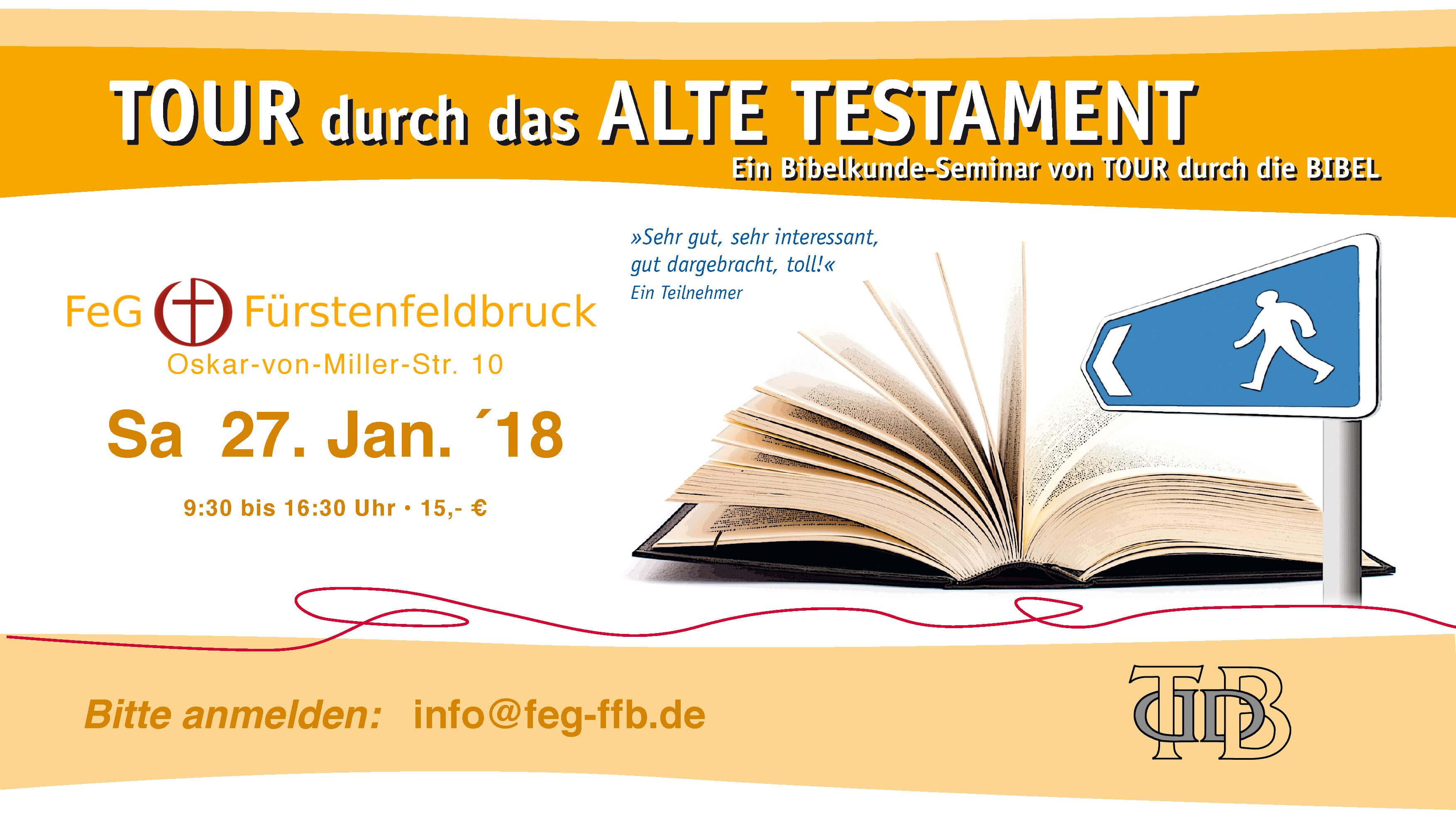 Flyer Bibel-Seminar