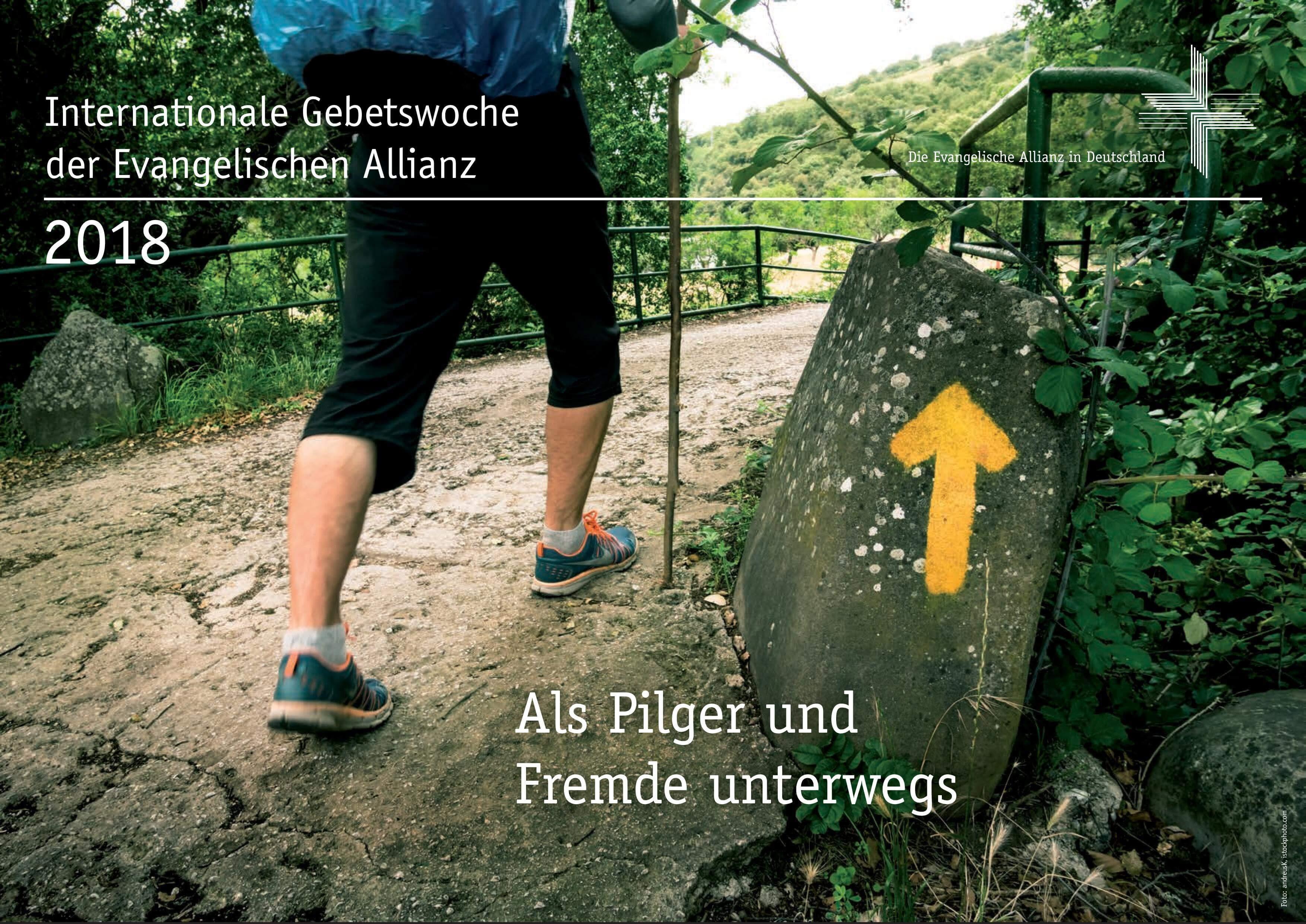 Poster zur internationalen Gebetswoche der Evangelischen Allianz